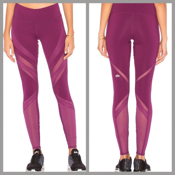 2e2dd2407987a5 ALO Yoga Pants | Epic Leggings Purple Bnwt | Poshmark